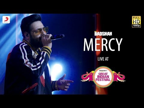 Mercy - Live @ Amazon Great Indian Festival | Badshah | O.N.E. Mp3
