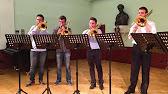 anton bruckner: os justi - for 8 trombones - youtube  youtube