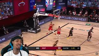 FlightReacts Toronto Raptors vs Miami Heat - Full Game Highlights | August 3, 2020!