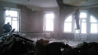 Капитальный демонтаж в квартире