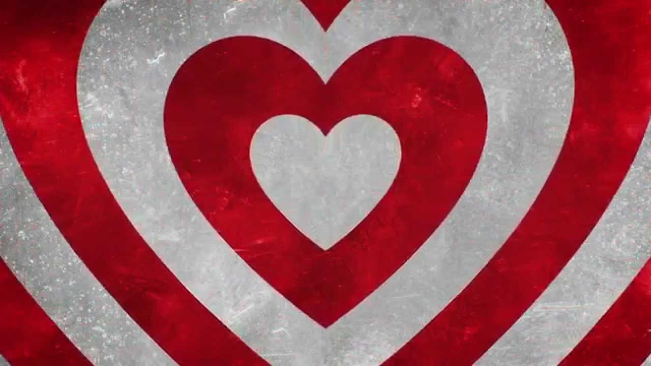 3d Love Red Heart Wallpaper Red Amp White Hearts Hd Motion Graphics Background Loop