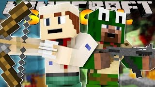 Minecraft School Scouts - CAMPING TRIP HUNTING BADGE w/Little Lizard & Tiny turtle