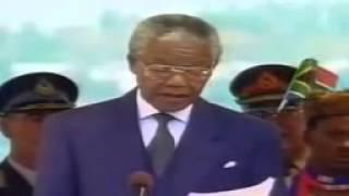 Nelson Mandela, il discorso del 10 maggio