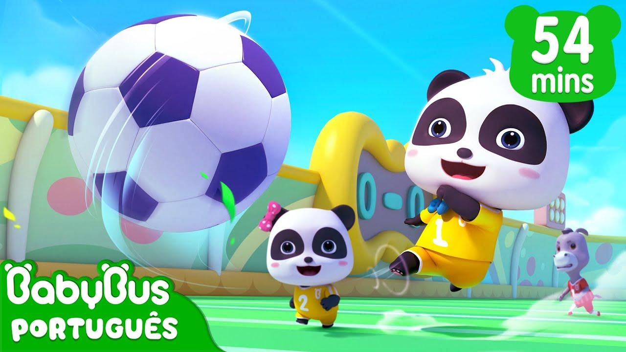 Kiki Chutando o Futebol! ⚽ | Jogar Futebol | Desenho Infantil | BabyBus Português
