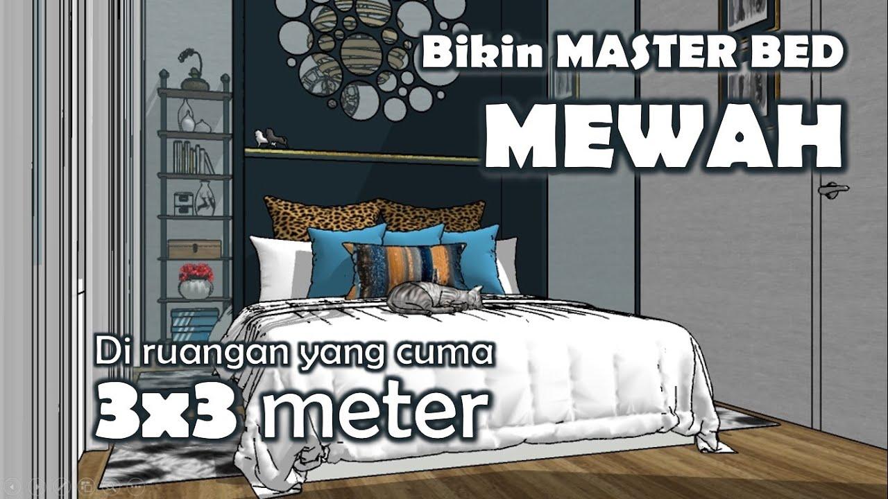 Desain Kamar Tidur Utama Ukuran 3x3 Meter Vlog 5 Youtube