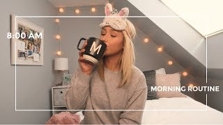 MY MORNING ROUTINE | weekend version