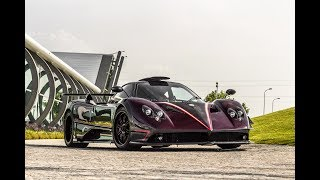 Car Spotting outside the Pagani Factory | Huayra Roadster, Zonda 5 & More!!!