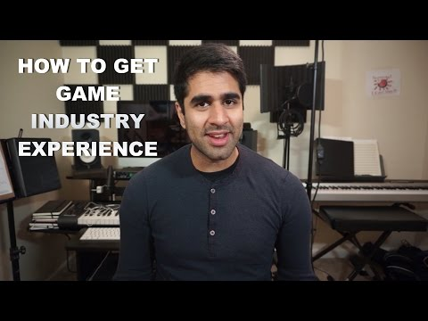 Finding a Game Industry Job - How to Get Game Development Experience