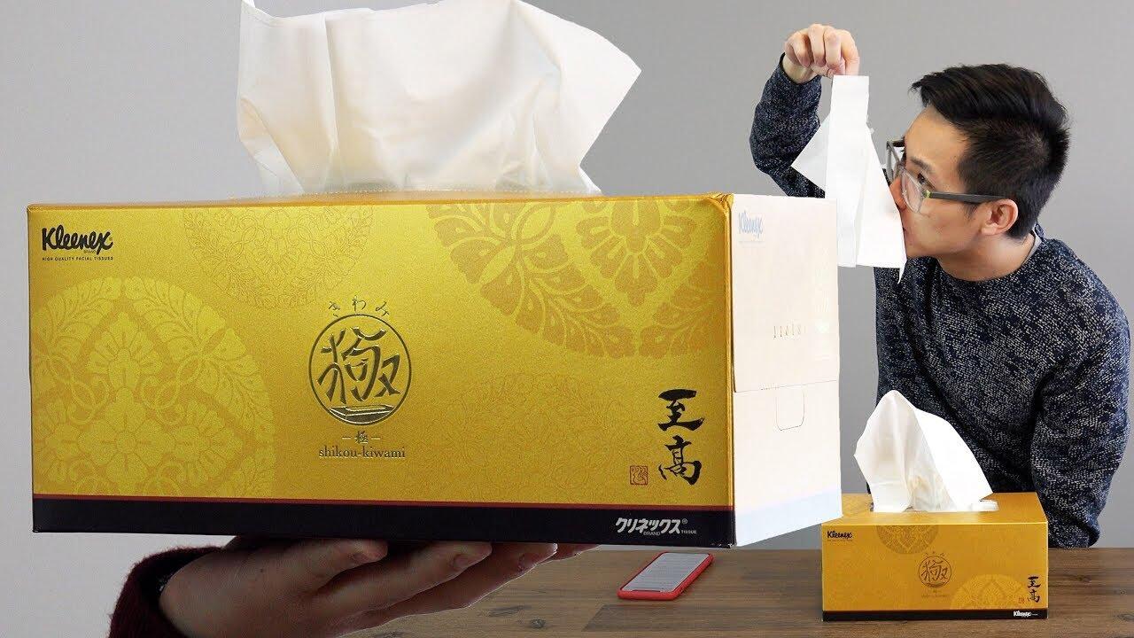 5c20a0ff139  30 Premium High Class KLEENEX BOX! - Most Expensive Tissue Paper. Geek  Dosage