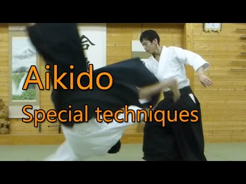 Aikido Special techniques01