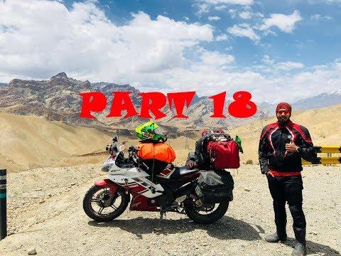 Sonmarg   Zojila pass (11,575 ft)   Drass   India Ride   Part 18   Yamaha
