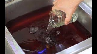 Что будет, если стакан уксуса вылить в раковину!