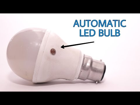 How to make Automatic LED bulb at home | DIY project