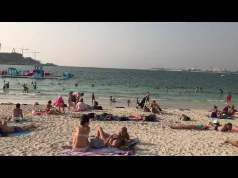 Beach In Dubai (JBR, The Walk)