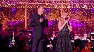 Natalie Dessay & Laurent Naouri - Duo des Parapluies de Cherbourg - July 14, 2014