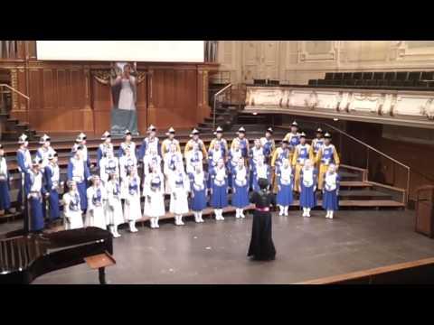 Inner Mongolia Youth Choir (1) 20. 07 .13 Graz, Austria, Stefaniensaal