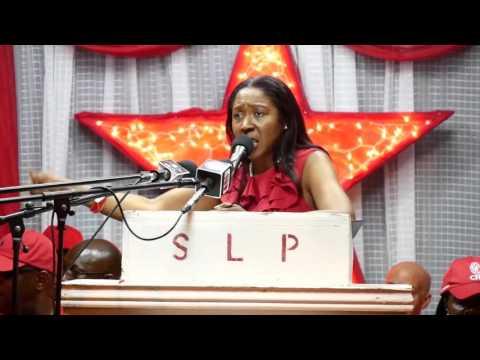 Public Meeting At Fond Assau, Babonneau March 20th, 2016 - Alvina Reynolds