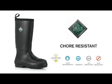 The Chore Resistant Boot | The Original Muck Boot Company - YouTube