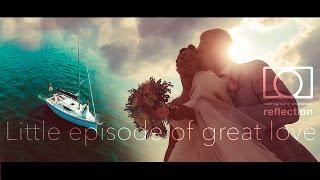 Красивая свадьба в Минске, свадебная прогулка на яхте. Минское море