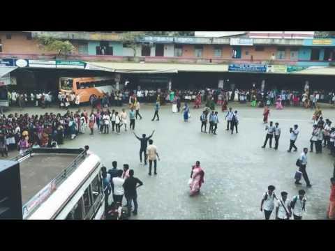 Àmazing flash mob  #christ college of engineering