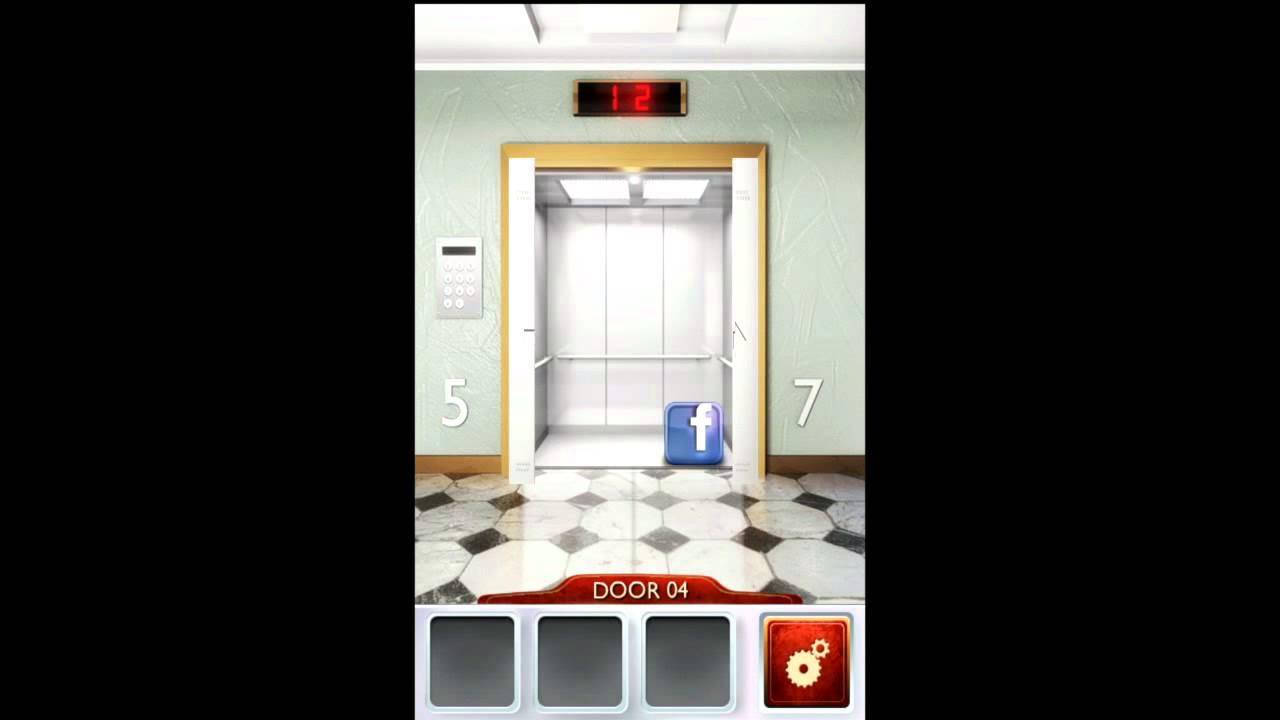 100 doors 2 level 4 walkthrough youtube for 100 doors door 4 solution