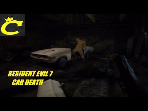 Resident Evil 7 Jack Baker Car Death Youtube