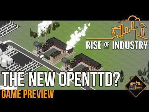 Is Rise of Industry the new OpenTTD? | Project Automata Alpha Gameplay Preview