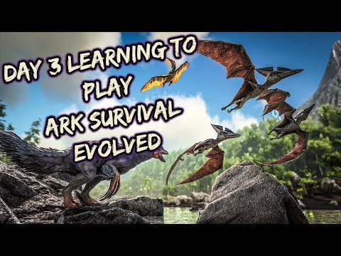 Day 3 in ARK SURVIVAL EVOLVED!! NOMODS Learning how to play, Looking for Help | PC | Like and Sub!!!