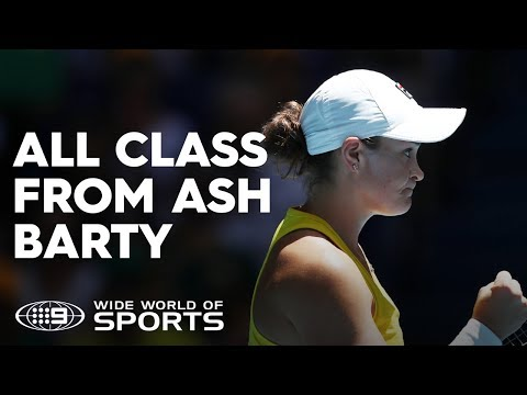 Ash Barty levels the Fed Cup Final tie | Wide World of Sports