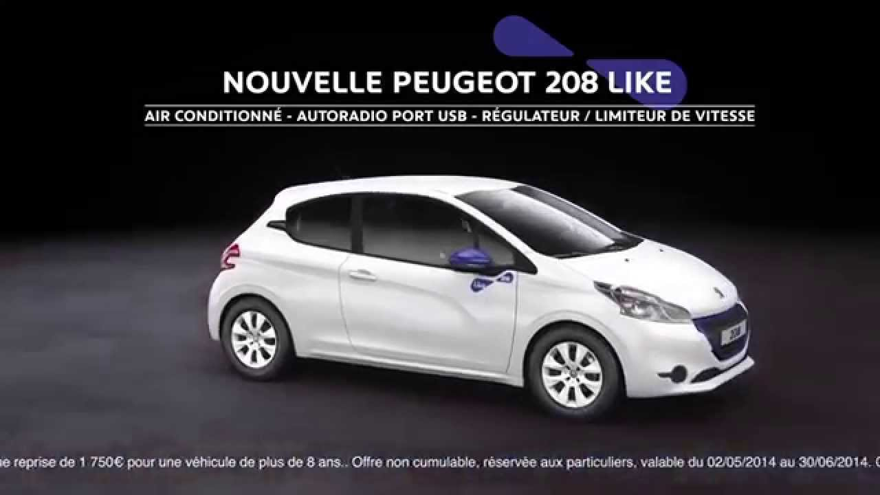 publicit peugeot 208 like 3 partie de chasse 50s 2014 youtube. Black Bedroom Furniture Sets. Home Design Ideas
