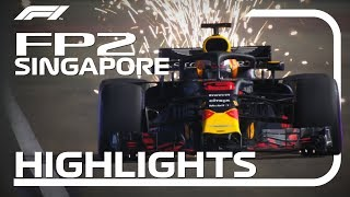 2018 Singapore Grand Prix: FP2 Highlights
