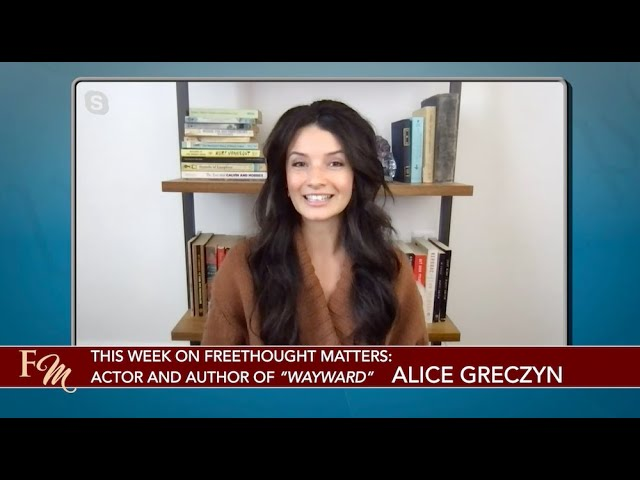 Alice Greczyn: Actress, Author & Founder of Dare To Doubt