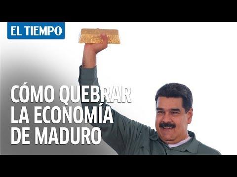 Así son los planes para quebrar la economía de Maduro  EL TIEMPO