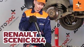 Wie RENAULT SCENIC RX4 Stoßdämpfer hinten wechseln TUTORIAL | AUTODOC