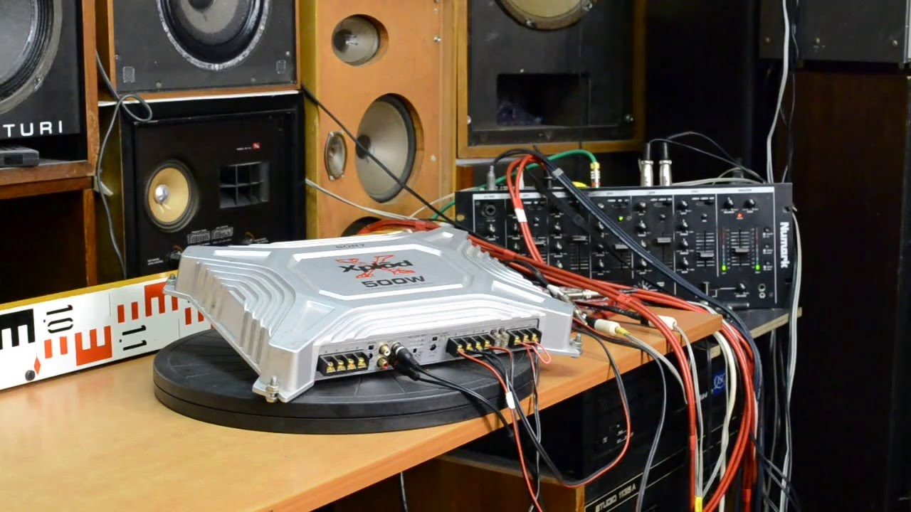 Sony Xplod Xm 504z Car Amplifier Power Amp Sound Tuning Rear L Explode Wiring Diagram Lr