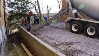 Garage Construction Update 14