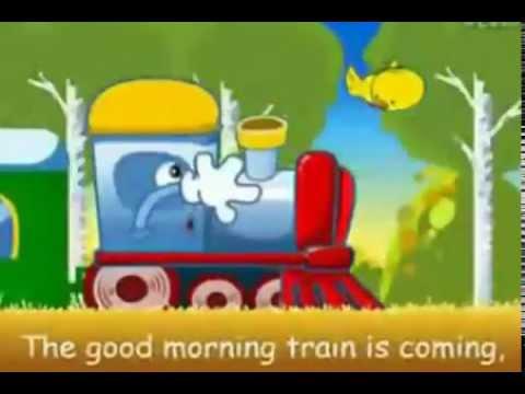 Cartoon time: Good morning train