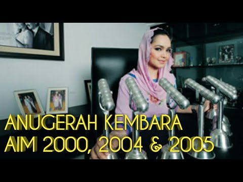 Siti Nurhaliza - Anugerah Kembara AIM 2000, 2004 & 2005