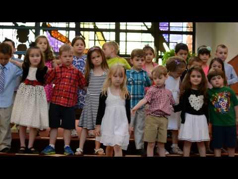 PreK Graduation.  Final Goodbye song. Let Them Be Little. Billy Dean