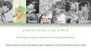 BTS (방탄소년단) – Whalien 52 (Color Coded Han Rom Eng Lyrics)   by Yankat