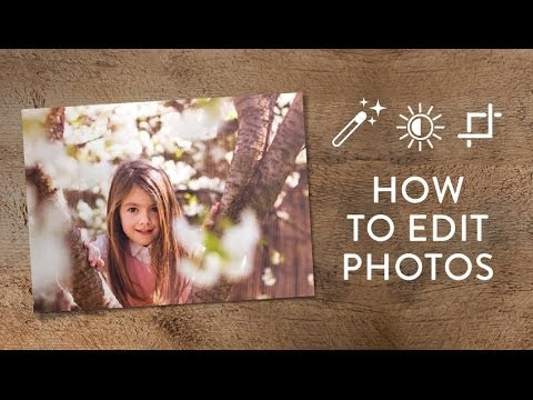 Working With Your Photos And Editing Them In Snapfish.