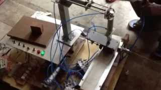 PLC Based Electro-pneumatic pick & place Robotic Arm