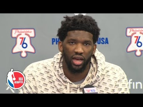Joel Embiid talks incident with Eric Bledsoe, more | NBA Sound thumbnail