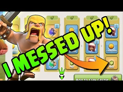 I MESSED UP! - Using The Book Of Building & Fighting! - Clash Of Clans - TH11 Magic Items!