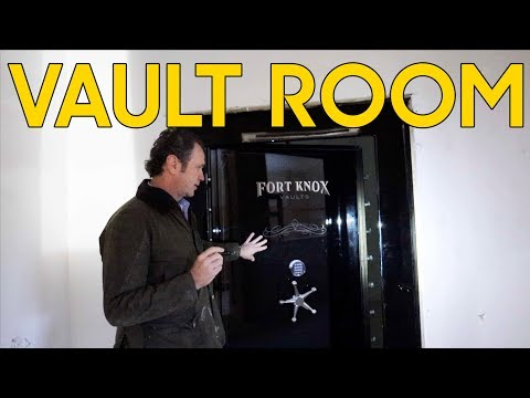 Fort Knox Vault Safe Room On The Cheap
