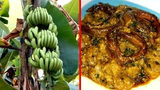 Oto Mboro... (Unripe Banana Porridge)
