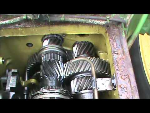 John Deere 7810 Fuse Box 4320 John Deere Transmisson Repair Youtube