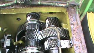4320 John Deere Transmisson repair.