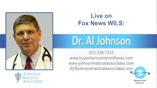 12/26/14 - Dr. Al Johnson featured on the radio - Hyperbaric Centers of Texas