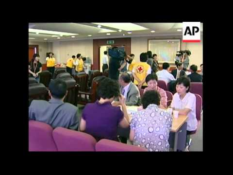 North and South Korean family reunions via video link ahead of summit